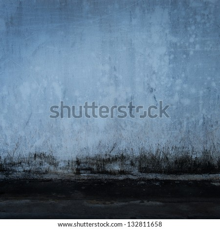 old grunge concrete wall background. - stock photo