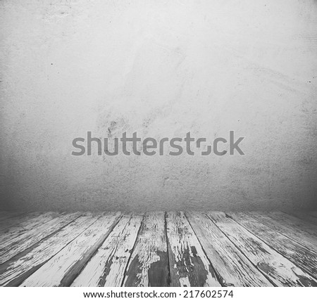 old grunge interior, grey vintage background