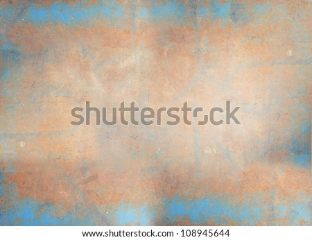 Old, grunge leather texture (for background) - stock photo