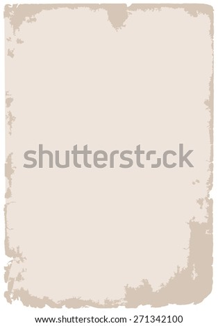 old grunge paper background illustration - stock photo