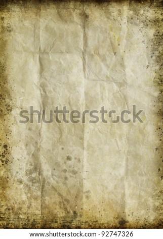 old grunge paper ,retro background - stock photo