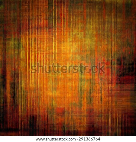 Old grunge template. With different color patterns: yellow (beige); brown; gray; red (orange) - stock photo