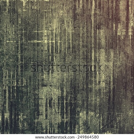 Old grunge textured background. With different color patterns: brown; gray; black - stock photo