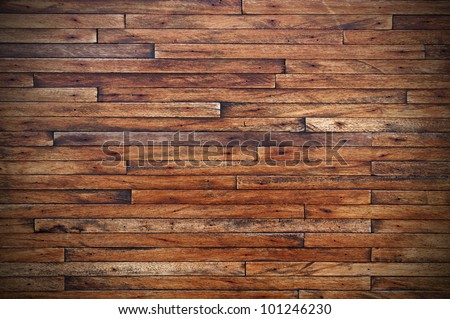 Old Grunge Vintage Wood Panels Background - stock photo