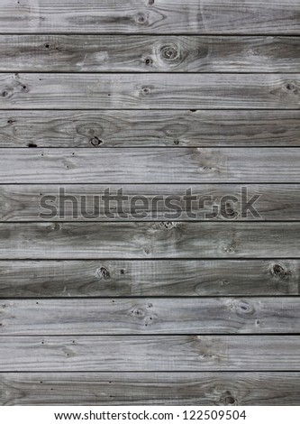 Old Grunge Vintage Wood Panels Background - stock photo