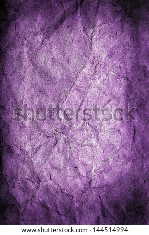 Old grunge violet paper background or texture - stock photo