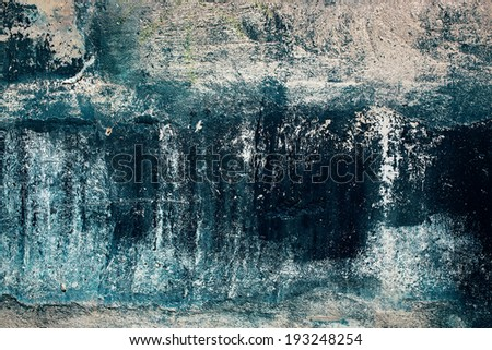 Old grunge wall background - stock photo