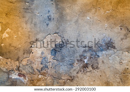 Old Grunge Wall Texture - stock photo