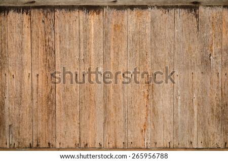 Old grunge wood background - stock photo