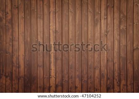 old, grunge wood panels - stock photo