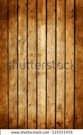 Old grunge wooden background or texture - stock photo