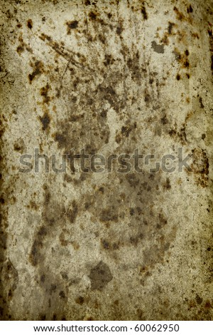 Old, grungy metal background - stock photo