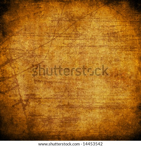 old grungy paper - stock photo