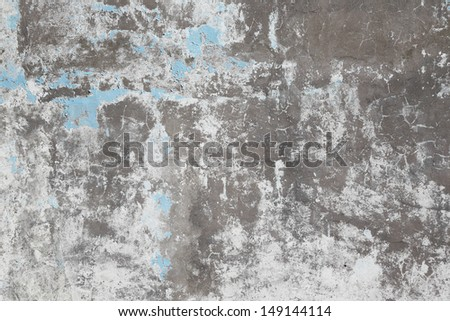 Old grungy stucco texture as background, close up - stock photo