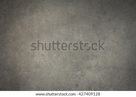 Old grungy texture, grey concrete wall, Grey textured wall, dark edges, Grey Concrete Texture. - stock photo