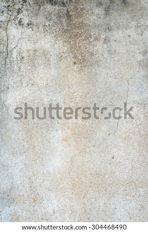 old grungy texture, grey concrete wall on background - stock photo