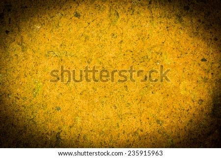 old grungy yellow background