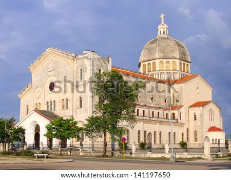 Old Havana architecture - stock photo