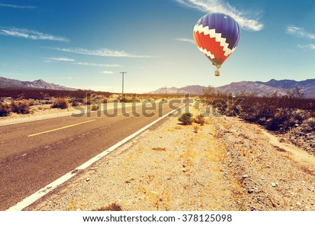 Old Historic Route  - stock photo