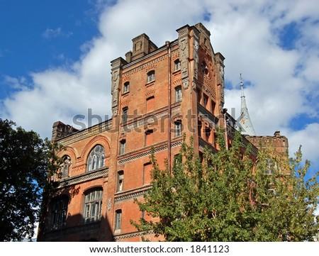 "Old house ""Asylum of Knight"" - stock photo"