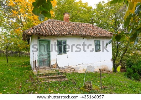Old house in central Serbia