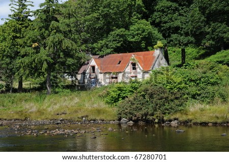 Old House in Scotland