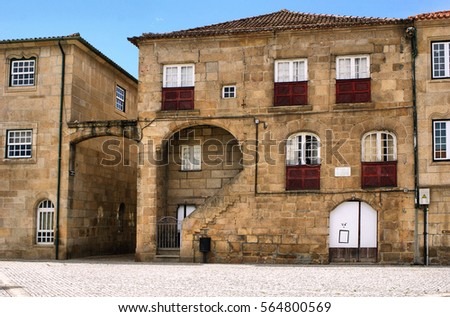 Old house of Diogo Cao, a portuguese navigator, Vila Real, Portugal