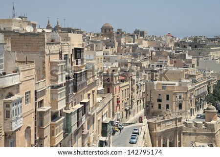 old houses in Malta