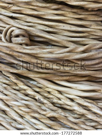 old industrial white wire roll background - stock photo