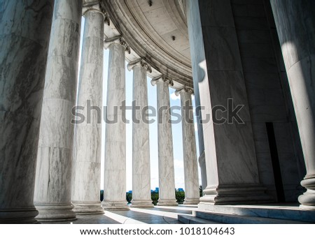 Old Ionic Columns