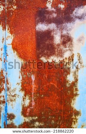 old iron background - stock photo