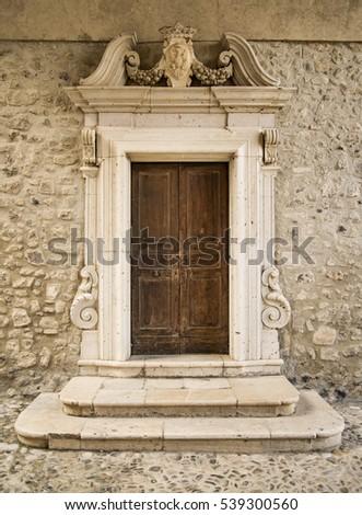 Old Italian Door
