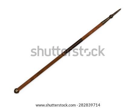 old javelin - stock photo
