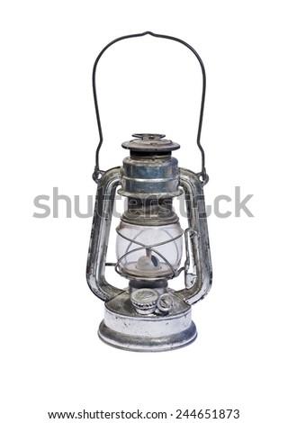 Old Kerosene Lamp Stock Photo Edit Now Shutterstock