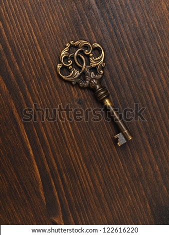 old keys - stock photo