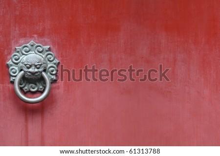 Old knocker - stock photo