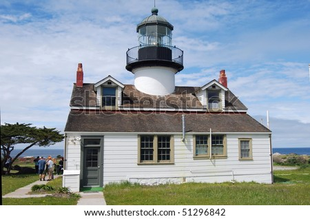 Old Lighthouse in Pacific Grove, California