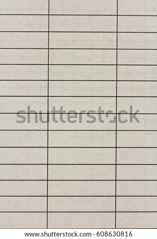 Old Lined Paper Horizontal Vertical Lines Stock Photo (Royalty Free ...