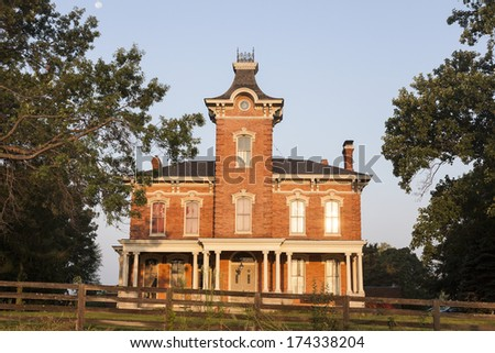 Old Mansion in Chatham - suburb of Springfield