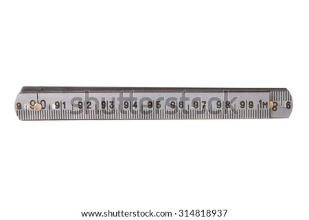 Word show ruler in cm