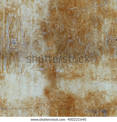 old metal texture, big resolution, horizontal and vertical tile - stock photo