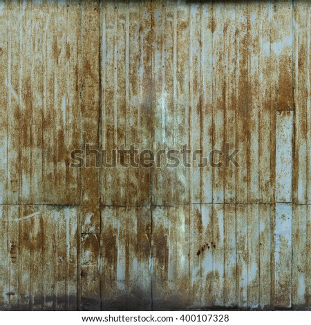 old metal texture, big resolution, tile horizontal and vertical - stock photo