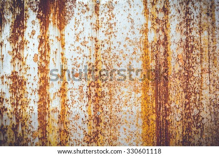 Old metal texture for background