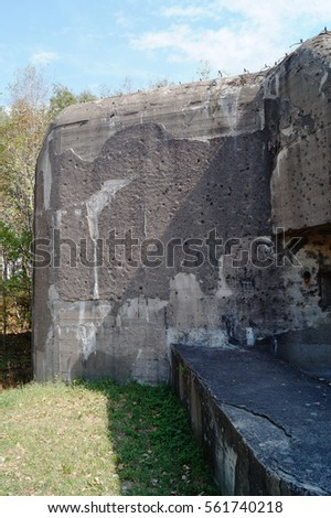 old military bunker