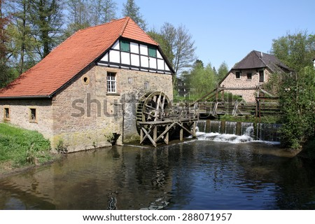 Old Mill in Lemgo-Brake, Germany