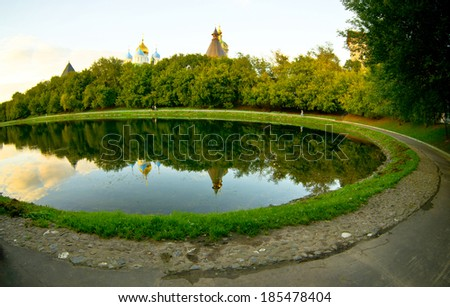 old Moscow, Russia - stock photo
