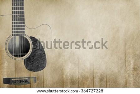 Old music Texture - stock photo