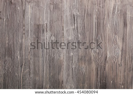 Old natural wooden background - stock photo