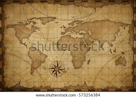 Old nautical vintage world map theme stock illustration 573256384 old nautical vintage world map theme background gumiabroncs Images