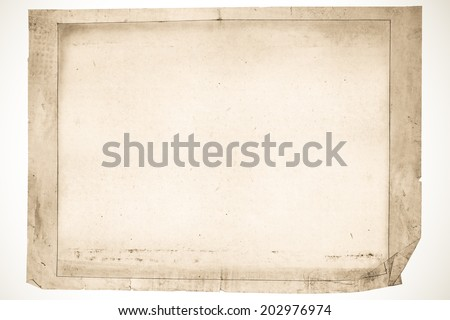 OLD NEWSPAPER ABSTRACT BACKGROUND - stock photo
